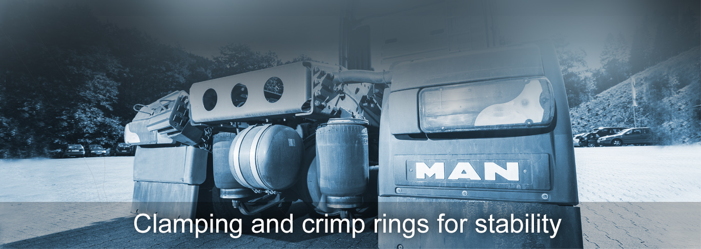 Clamping rings for stability