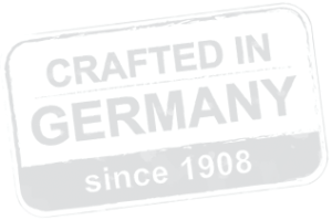 Crafted in Germany since 1908